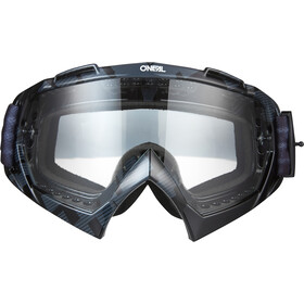 O'Neal B-10 Goggles, pixel black/white-clear